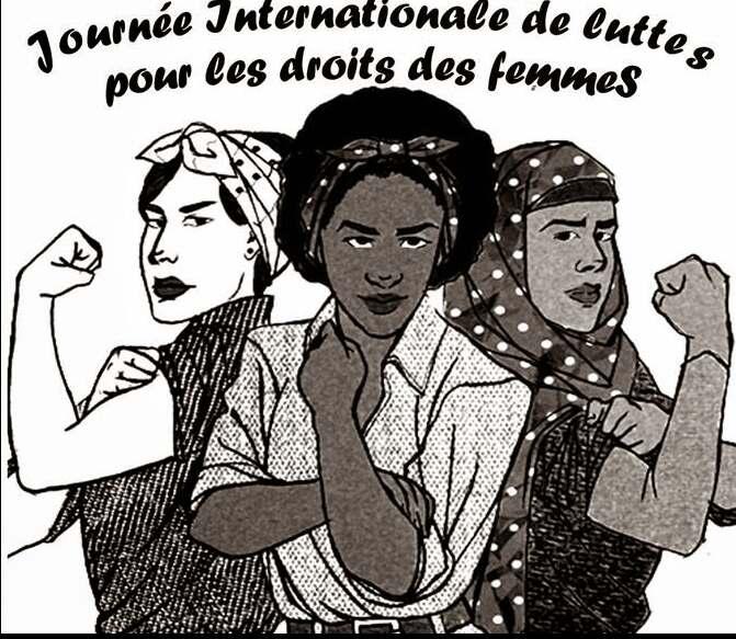 Affiche Pour La Journée De La Femme apéro politique femmes et migrations | ipam