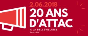 20 ans d'Attac à la Bellevilloise @ La Bellevilloise