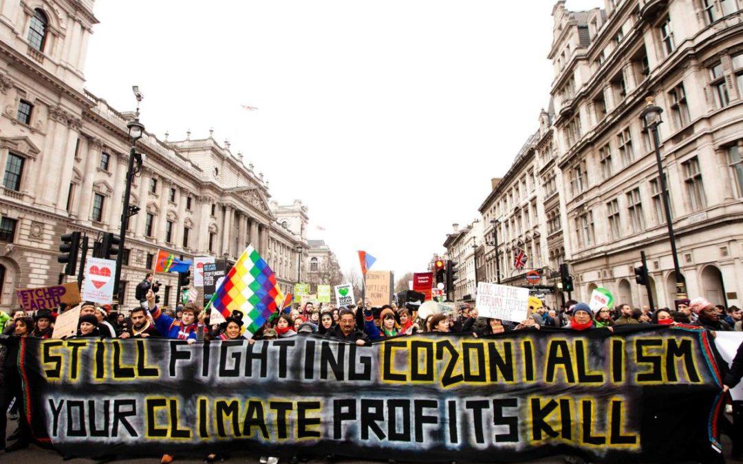 Changement climatique néocolonialisme. Quelles résistances au colonialisme climatique ?