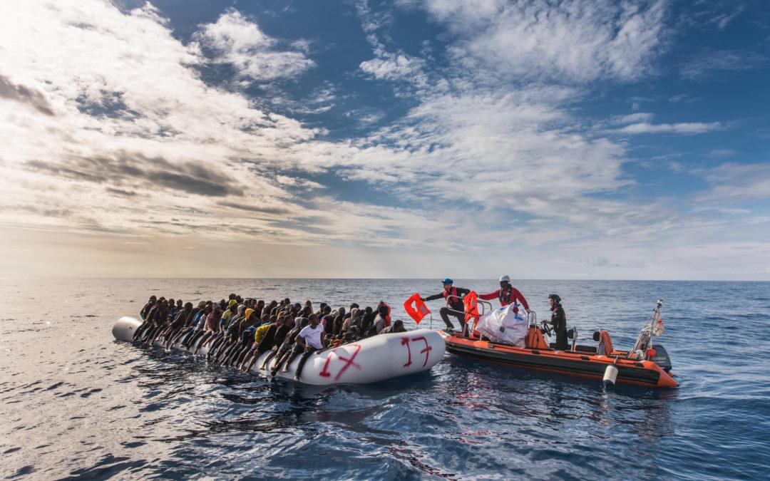 La Fondation PAM soutient SOS-Méditerranée